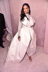 Rihanna attends 2018 Diamond Ball