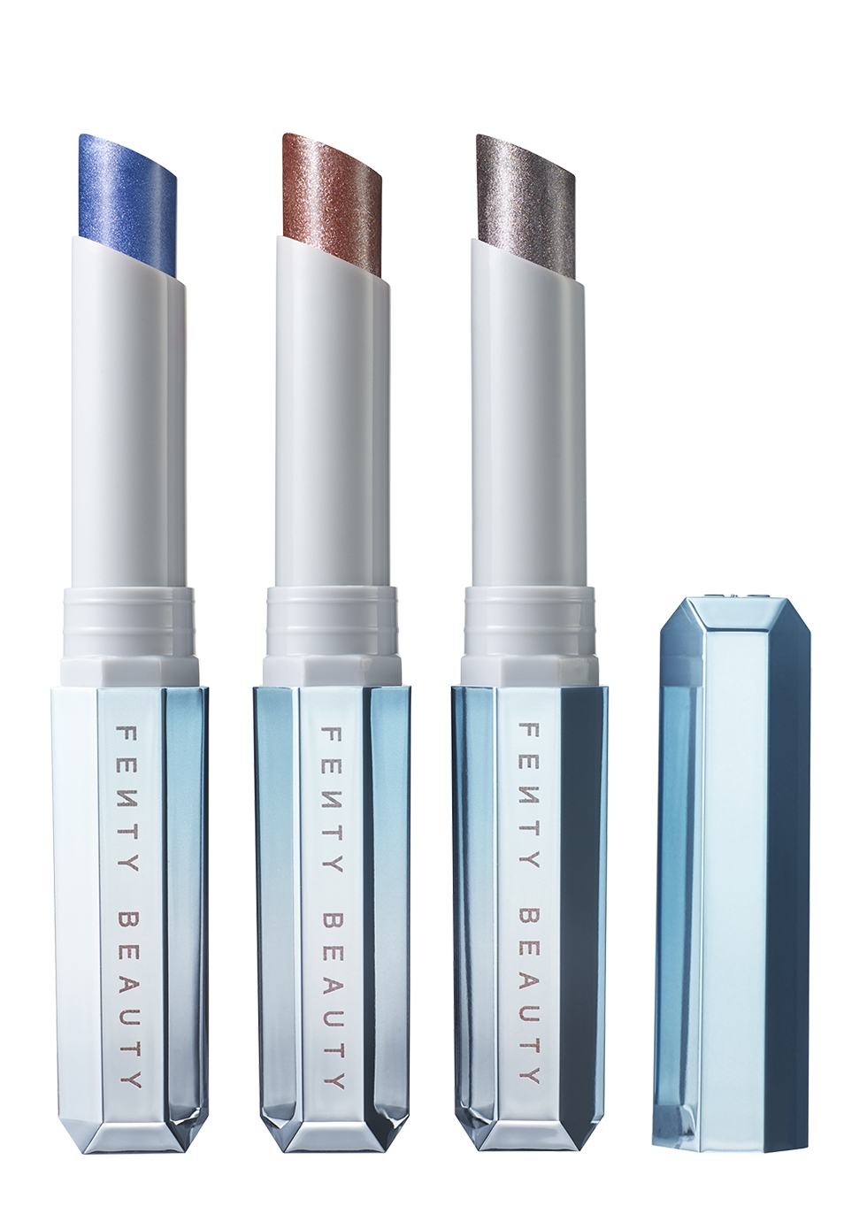Fenty Beauty Frosted Metal Lipstick Trio