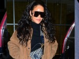 Rihanna out in New York on January 15, 2019