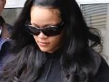 Rihanna arrives in New York on April 12, 2019