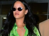 Rihanna leaves a photoshoot in NYC on April 14, 2019