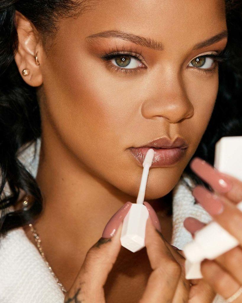 Rihanna Fenty Beauty Pro Kiss'r Promotional Photo