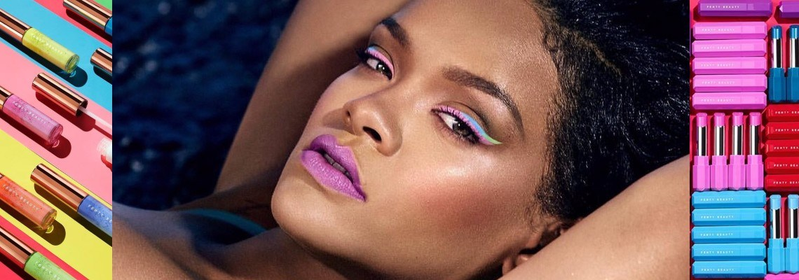 Fenty Beauty's colorful Summer '19 drop
