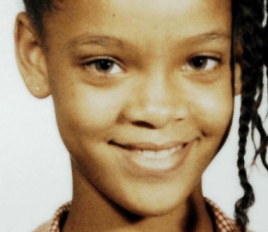 Rihanna criança em Barbados