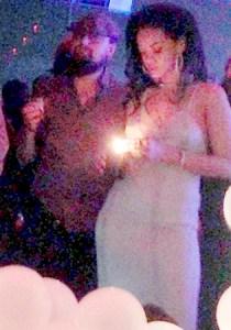 Rihanna e o peguete Leonardo DiCaprio