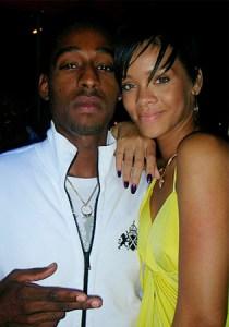 Rihanna e namorado Negus Sealy