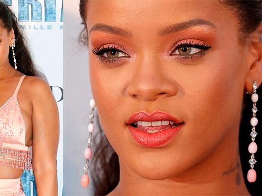 Rihanna na premiere de Valerian em Paris