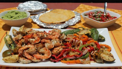 How to make Chicken Fajita and Shrimp step by step