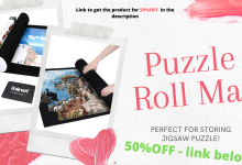 puzzle roll Mat features & video review (Link to buy Below For The best price)