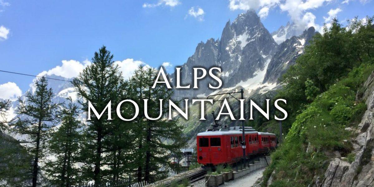 【60枚無料配布】アルプス山脈(フランス)写真配布【トレス、加工、資料】