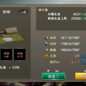 三國志新作 田畑データ