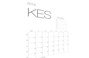 tulostettava kalenteri