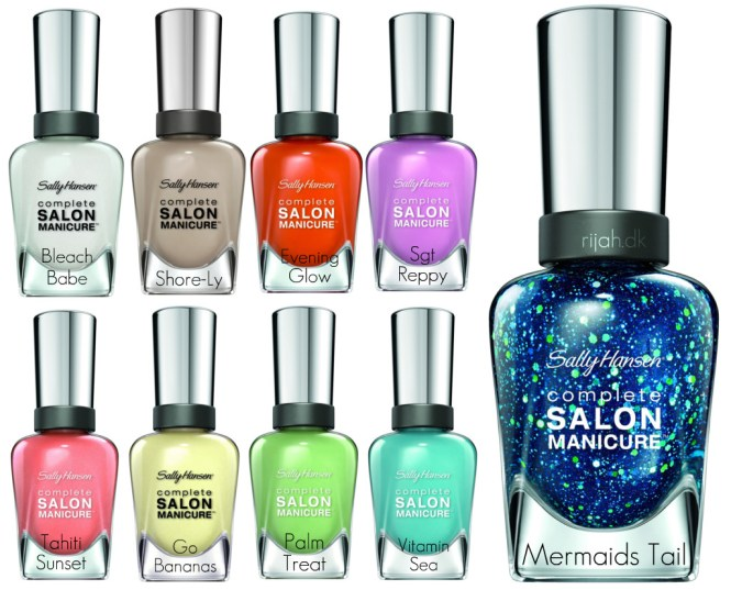 Sally Hansen Exotica Collection og Mermaids Tail