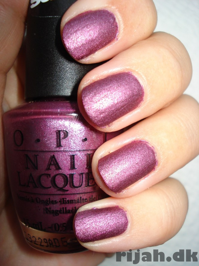 OPI Well always have Paris Suede