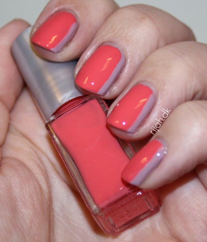 Sideways manicure rijahdk