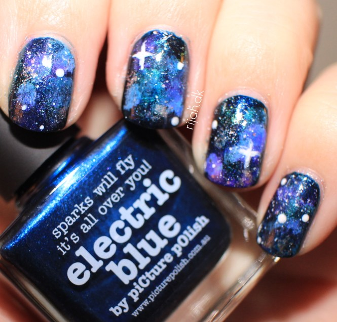 galaxy nailart eosm