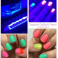 Depend Gellack Neon Limited edition
