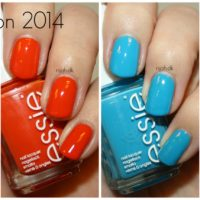Essie Summer collection 2014 - swatches
