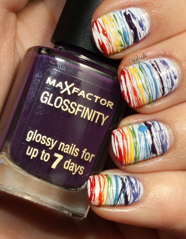 31DC2014 09: Rainbow Nails