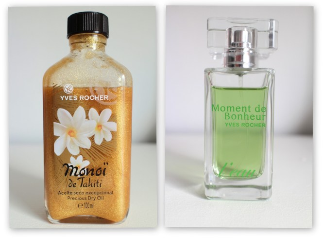 Yves Rocher Precious Dry Oil Moment de Bonheur Yves Rocher Blog Review - Summer must haves