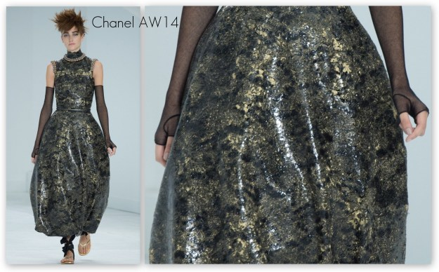 31DC2014 25: Inspired by fashion Chanel AW14 couture