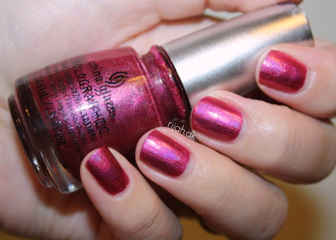 China Glaze Infra Red China Glaze Hologlam Holographic