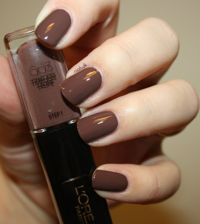 Loreal 003 Timeless Taupe Loreal Infallible Nails