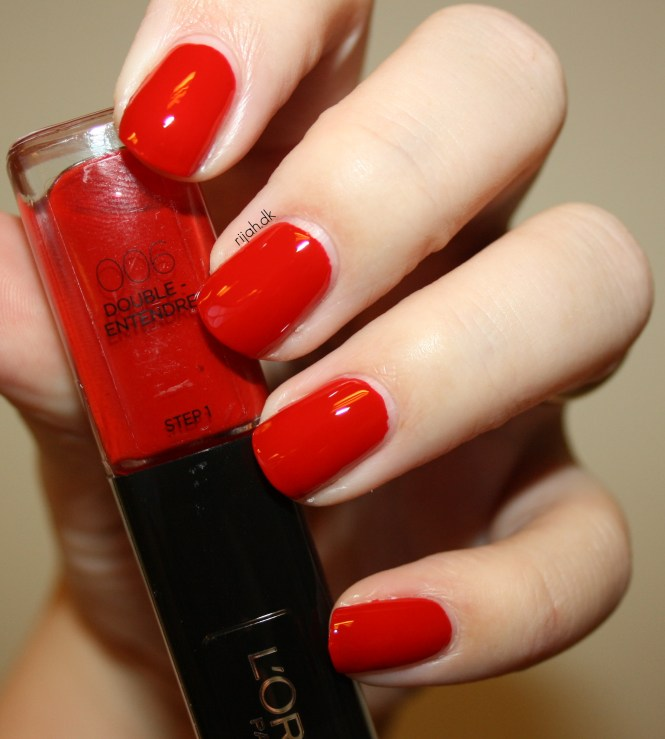 Loreal 006 Double Entendre Loreal Infallible Nails