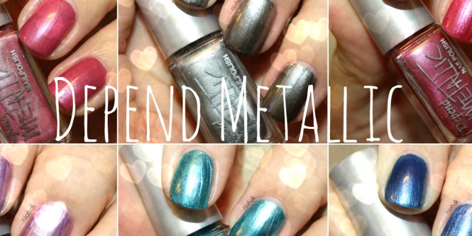 Depend Metallic collection
