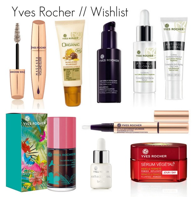 yves rocher wishlist