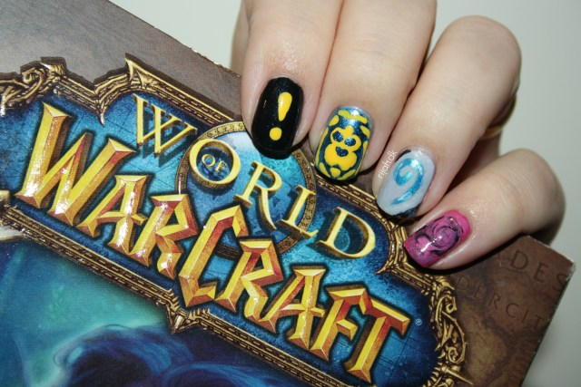 worldofwarcraftnails Nail art 2015