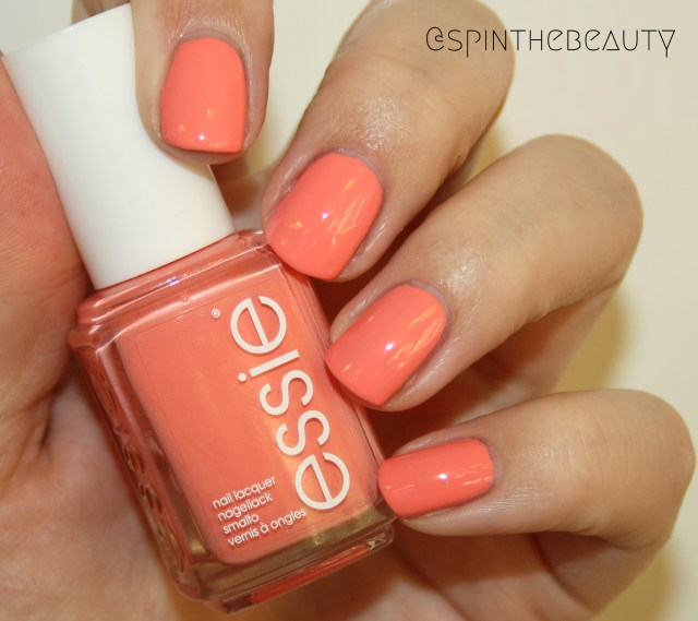 Essie Peach Side Babe
