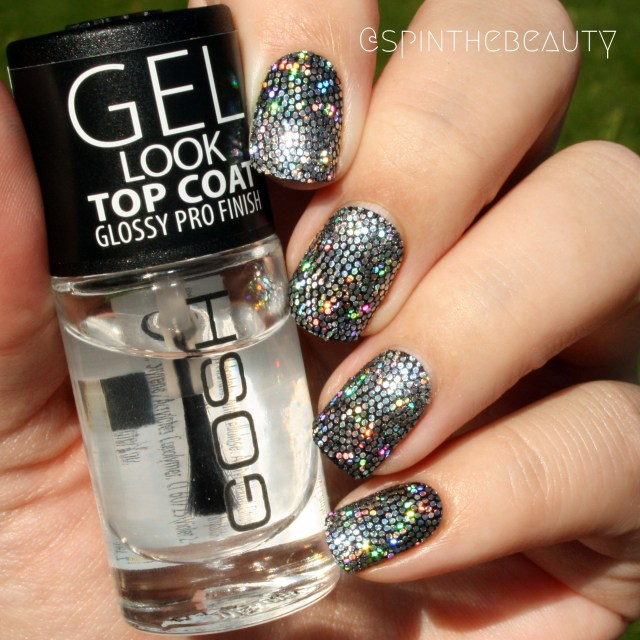 31DC2015 Metallic Nails Holo