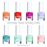 Depend Spring 2016 - 7day & O2