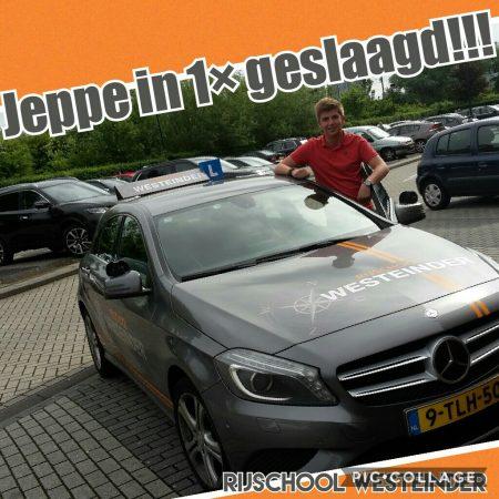 Jeppe Geslaagd