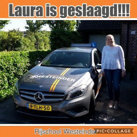 Laura Geslaagd