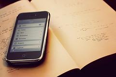 ノートとiPhone3g