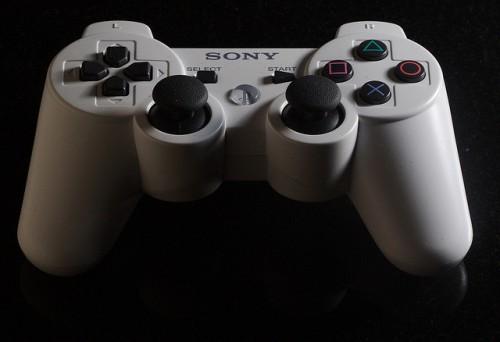 PS3 White controller