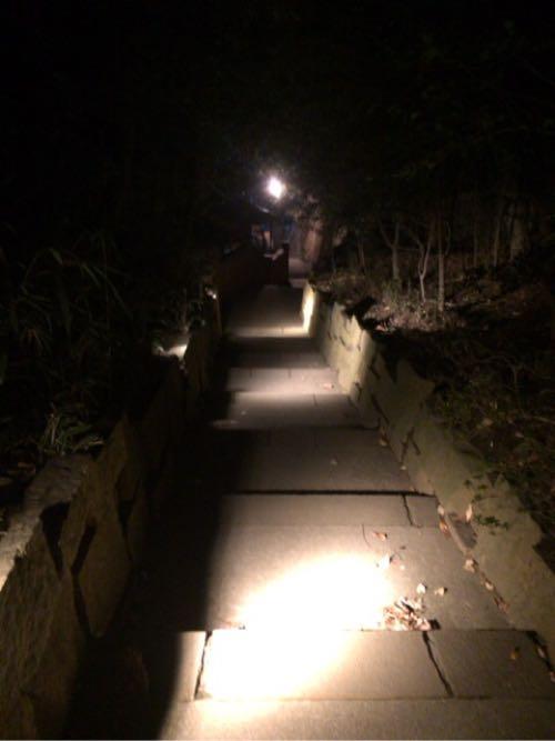 深大寺の裏手の入口