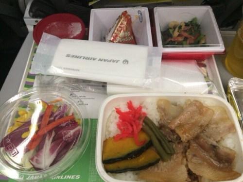 JAL機内食 豚丼 北海道