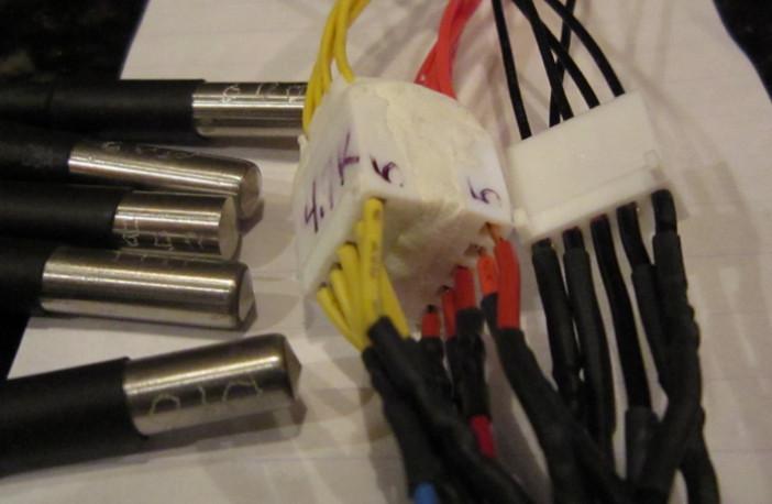 DS18B20 -- external power - 5 Probes working