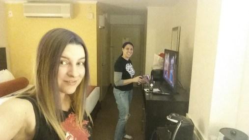 San Antonio with Stephanie.