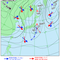 平成29年11月23日12時の天気図2