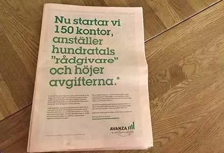 Försättsbild till artikeln: Avanza blir bank på riktigt - Äntligen fattar de grejen...