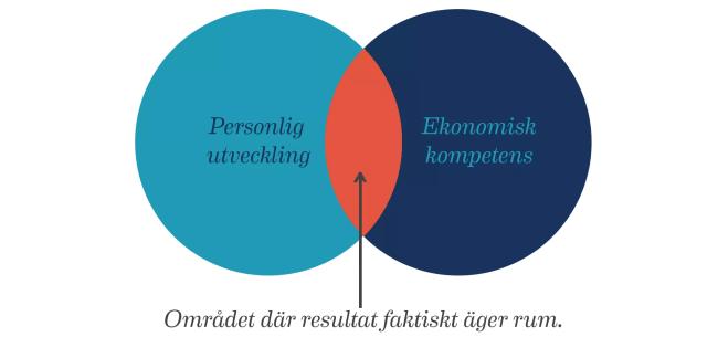 Balansekonomi är kombinationen mellan personlig utveckling och modernt ekonomiskt tänkande.