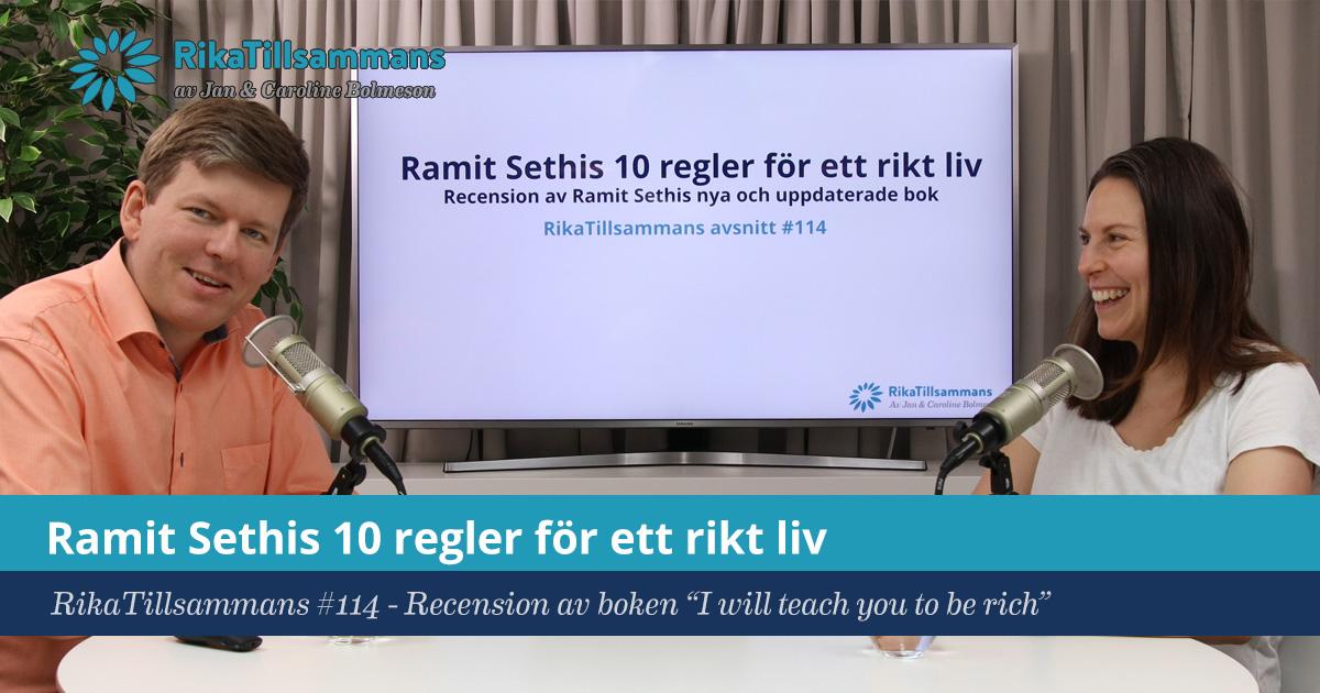 """Försättsbild till artikeln: Ramit Sethis 10 regler för ett rikt liv - RikaTillsammans #114 - Recension av boken \""""I will teach you to be rich\"""""""