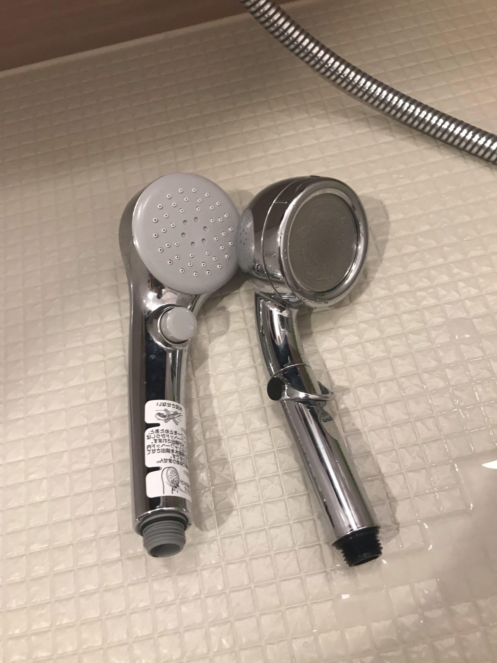 シャワーヘッドの比較TOTOとあまね