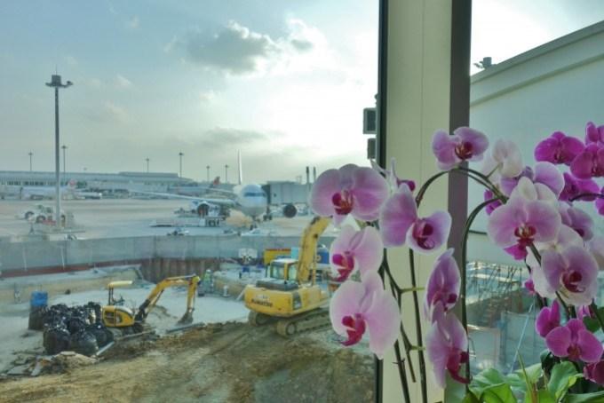那覇空港からの眺め