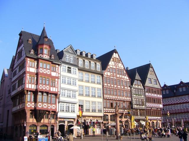 ルフトハンザで行くドイツの街