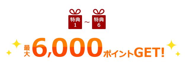 セディナカードJiyuda入会キャンペーンで合計6,000円獲得可能